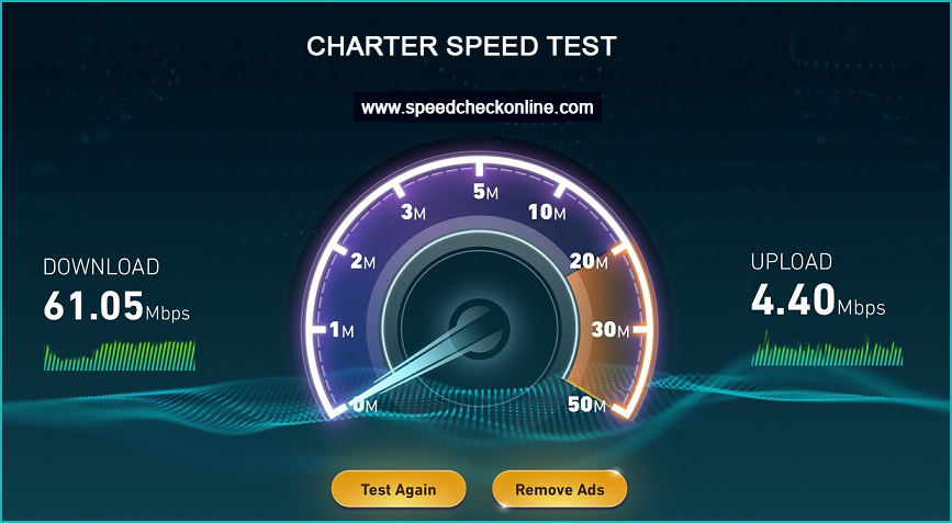 charter speed test, test my internet speed